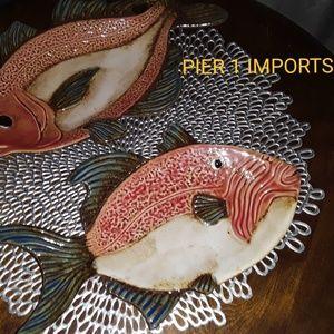 Pier 1 Beach House Decor Beta Fish